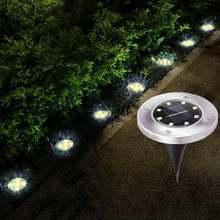 Солнечный светильник на открытом воздухе Водонепроницаемый 8