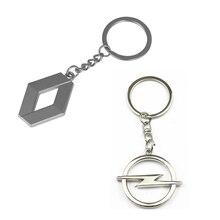 Металлический брелок для ключей для AUDI A1 A3 A4 B5 B6 B7 B8 A5 C5 A6 C6 C7 A7 A8 A1 100 V8 8V Q3 Q5 Q7