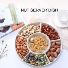 Сервировочная тарелка с фруктовым поддоном конфетные закуски
