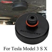 سيارة المطاط رافعة السيارة وسادة نقطة محول مناسبة الهيكل الإطار حامي أداة ل تسلا نموذج 3 نموذج S نموذج X اكسسوارات