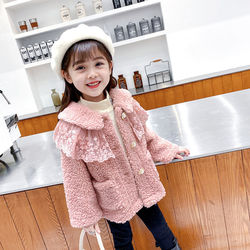 2021 Autumn Winter Girl Jacket Thick Warm Kids Clothes Children Jacket For Baby Girls Outerwear Toddlers Fashion Outerwear D93