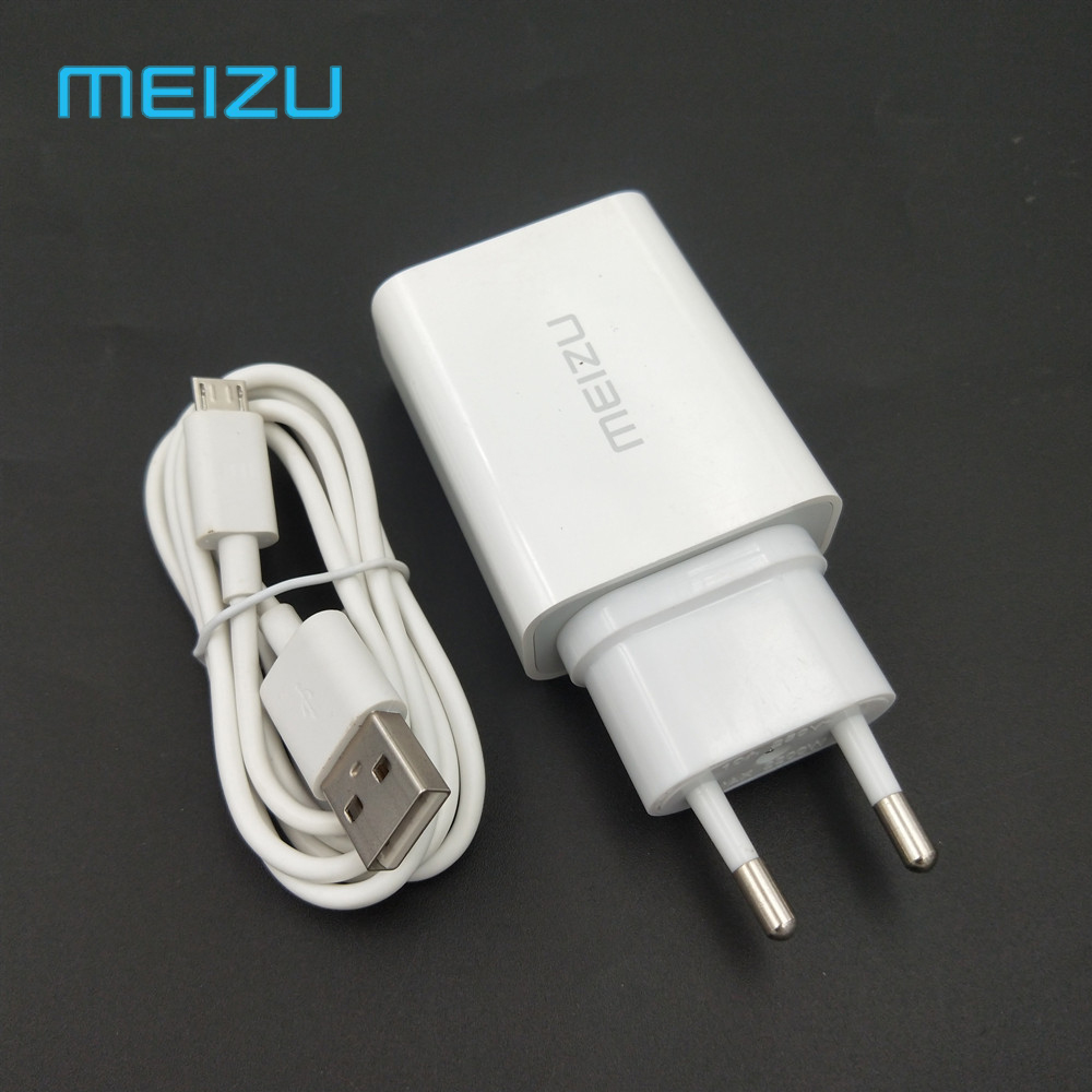 Original Meizu Fast Charger 12V 2A Quick Usb Charge Adapter Micro Usb Cable For Mei Zu 15Lite/M6S M5S M3S M3 M5 M6 Note MX5 U20