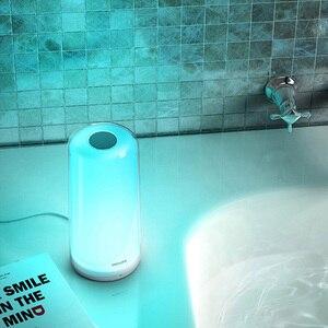Image 4 - Xiaomi MIJIA Smart PHILIPS luz de Cabeceira Lâmpada de Cabeceira LEVOU luz de Escurecimento Noite Luz de Carregamento USB WiFi Bluetooth Mi Casa APP