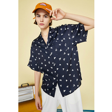 Women Summer Polka Dot Short Sleeve Notched Collar Office Lady Chiffon Tops Blusas Mujer
