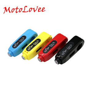 MotoLovee Motorcycle Griplock Handlebar Safety Lock Brake Universal Throttle Grip Anti Theft Protection Security Lock