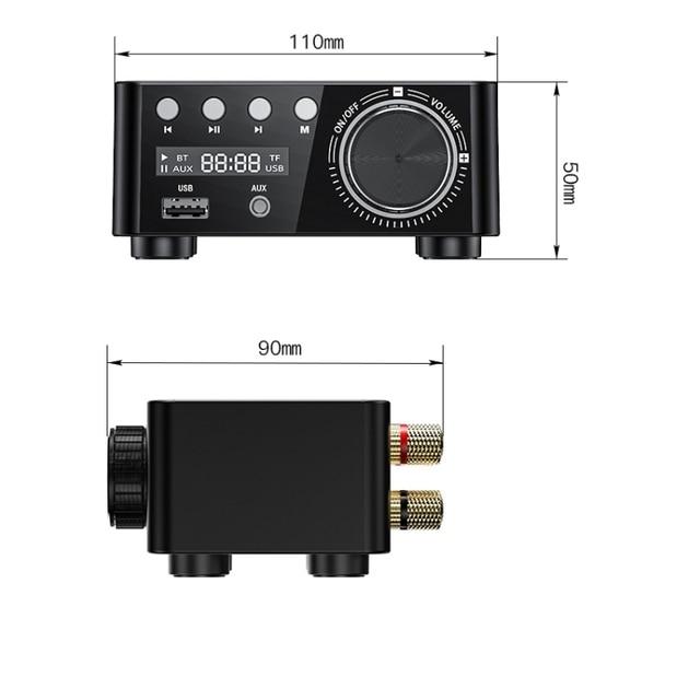 50WX2 Bluetooth 5.0 Power Amplifier Board   6