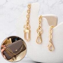 Chain for handbag Bag Parts Accessories Bags Chains Handbag Accessory Metal Alloy Bag Chain Strap for Women Bags Belt Straps