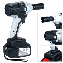 Impact-Wrench Electric Driver Torque Cordless Battery with 1/2in-Chuck 980