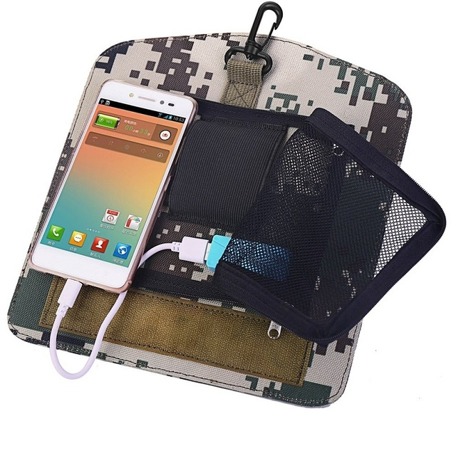 HOWO New Solar Backpacks for Men Large Travel Shoulder Bags Laptop Business Camouflage Sport Rucksack with Detachable Panel 6