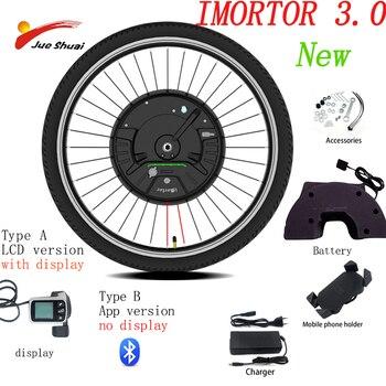 Kit de conversión de Bicicleta eléctrica Mortor, 36V, 350W, alta velocidad, larga...