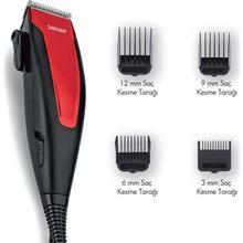 Goldmaster Charisma Gm-7148 Machine de découpe de cheveux corps du visage électrique rasoir kit de toilettage rasoir pour hommes humide sec barbe rasage