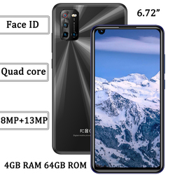 Quad Core 6A 8MP+13MP Face ID Android 6.72