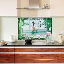 Водных чернил лотоса (jiangnan) Семейная Кухня Водонепроницаемый