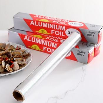 Narzędzia do pieczenia grill folia aluminiowa pogrubienie grill folia aluminiowa grill domowy folia aluminiowa folia aluminiowa folia aluminiowa folia aluminiowa tanie i dobre opinie CN (pochodzenie) tinfoil Odporność na ciepło Non-stick Baking tin foil 10m 5m