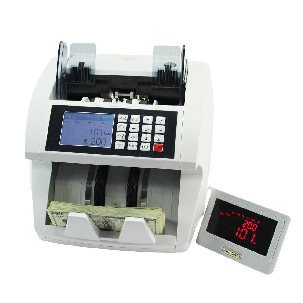 cis profissional usd eur sol numero de serie leitura impressao moeda maquina de contagem dinheiro falso