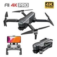 SJRC F11S Pro-Dron teledirigido con cardán de 2 ejes, cámara profesional Real 4K, Motor sin escobillas, GPS, 5G, WIFI, FPV, VS SG906 Pro 2