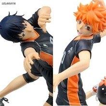 Figura de acción del Anime japonés Kageyama Tobio Hinata Shoyo, modelo de 17cm para jugar voleibol, muñeco de decoración coleccionable