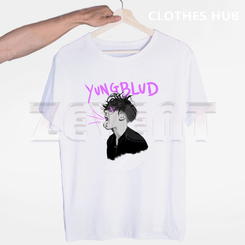 Yungblud Tshirts Men Fashion Summer T-shirts Tshirt Hip Hop Girl Printed Top Tees Streetwear Harajuku Funny