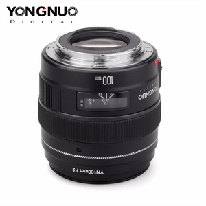 Image 3 - YONGNUO 100 มม.YN100mm F2 ขนาดใหญ่ Medium Telephoto PRIME เลนส์สำหรับ Canon EF Mount 5D 5D IV 1300D T6 760D 1300D กล้อง Nikon