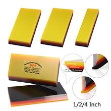 FOSHIO 3/5 sztuk do pakowania samochodów Film PPF gumy skrobak z włókna węglowego folia zaciemniająca okna do czyszczenia narzędzia naklejki do usuwania winylu ściągaczka