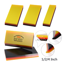 Foshio 3/5Pcs Wikkelen Auto Film Ppf Rubber Schraper Koolstofvezel Venster Tint Wassen Cleaning Tools Sticker Remover vinyl Zuigmond