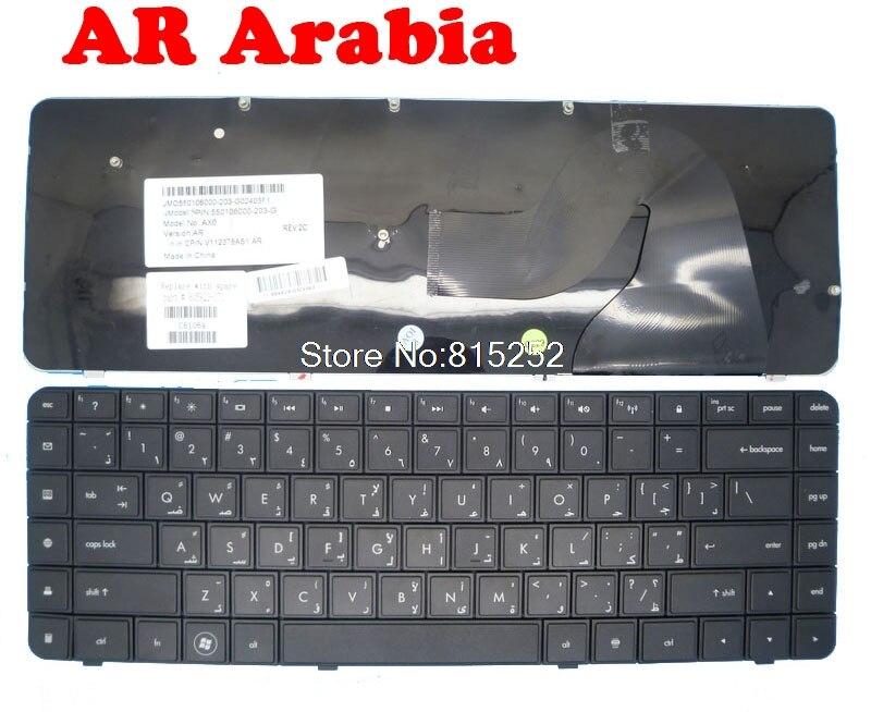 Клавиатура для ноутбука HP CQ56 G56 CQ62 G62 AR Korea 605922-171 595199-171, Черная