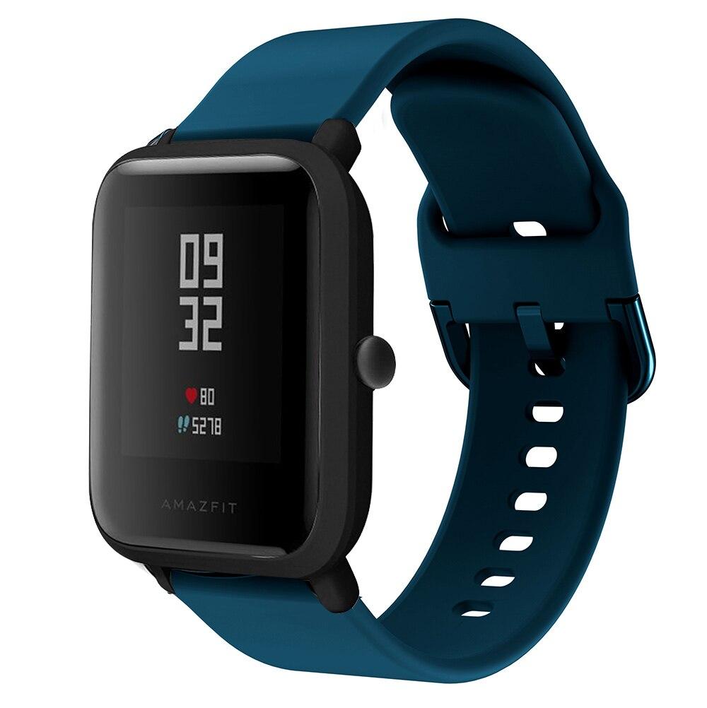 BEHUA Smartwatch Bracelet Watch Strap For Huami Amazfit GTS/ Amazfit Bip Youth/GTR 42mm 20MM Replacement Band Bracelet