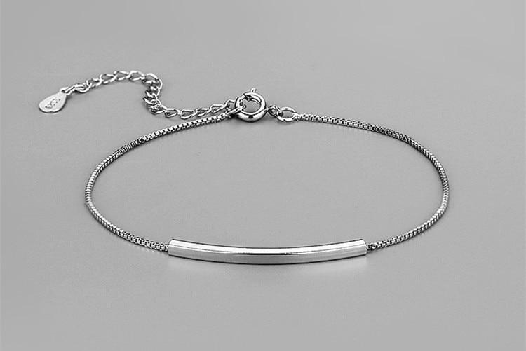 Gelang Rantai Perak 925 Sterling Perak Sterling Perak Murni 925 - Perhiasan fesyen - Foto 3