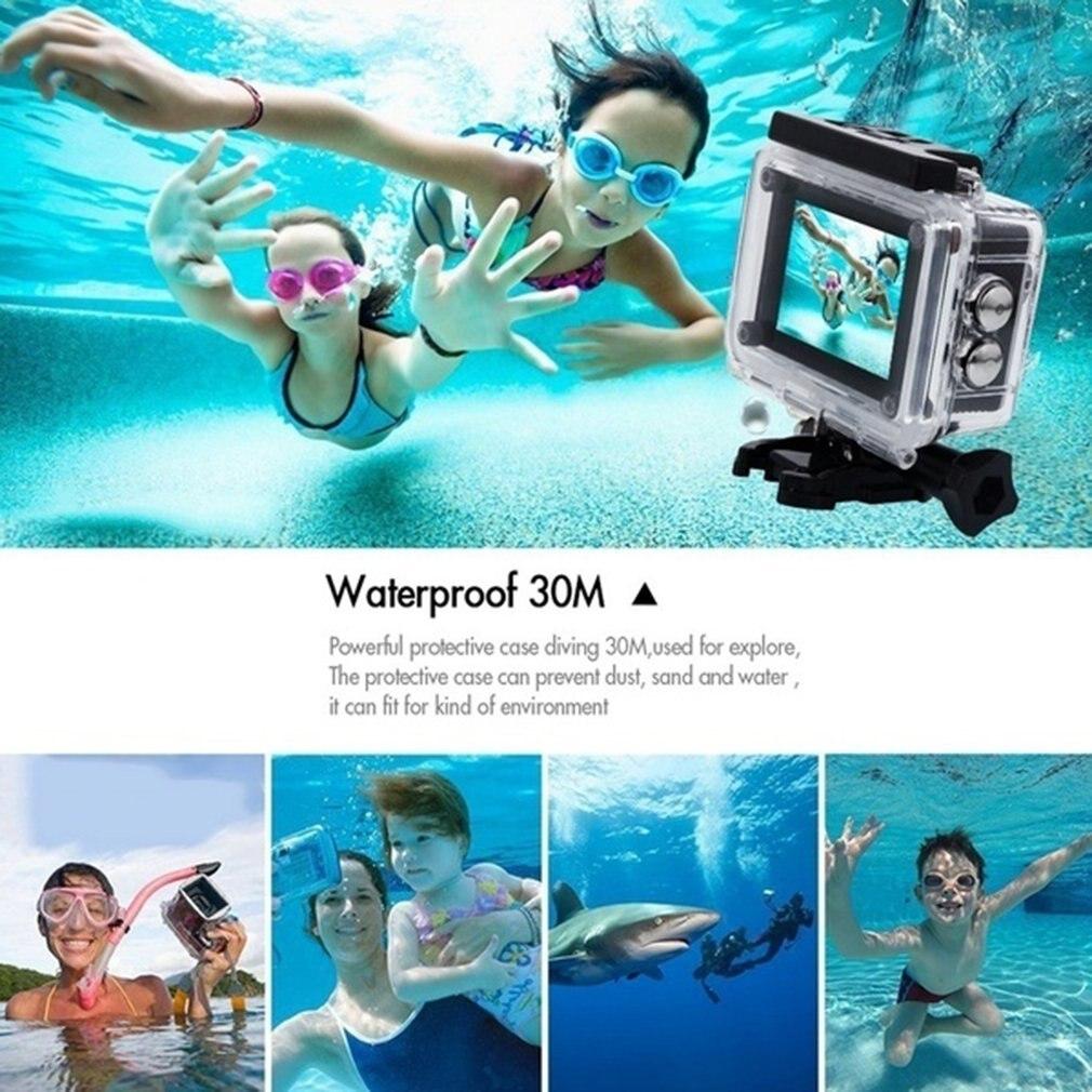 He4357b6db8d1431496b1a2eeb1eada99C Pro Cam Sport Action Con Telecomando Camera 4k Videocamera Wifi Ultra Hd 16mp DVR Sports Outdoor Diving Bicycle Camcorder