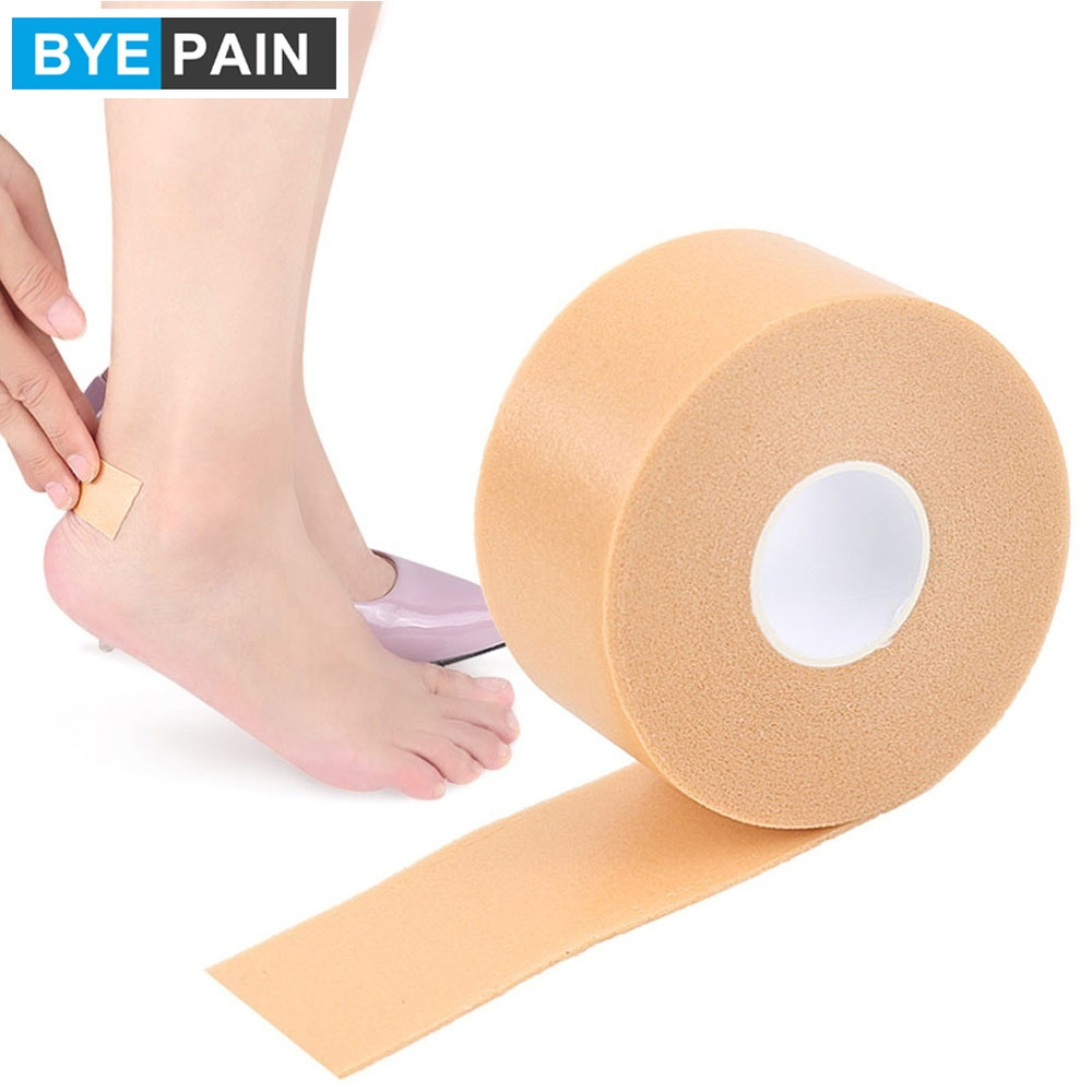 1 rolle BYEPAIN Kinesiologie Tape für Athleten, wasserdicht Reduzieren Schmerzen und Verletzungen Recovery Elastische Stretch 2.5*450cm Pro Rolle