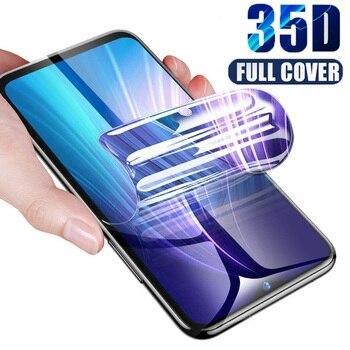 Перейти на Алиэкспресс и купить Изогнутый край Полное покрытие для Doogee N20 защита экрана Гидрогелевая пленка защитная пленка Для Doogee Y9 Plus стекло