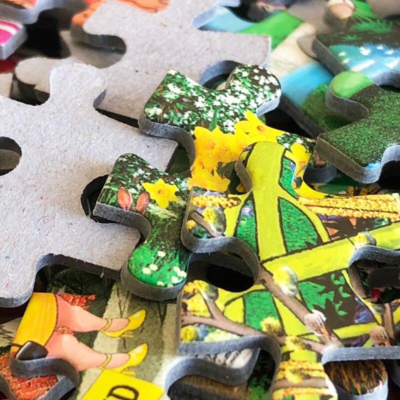 Puzzle 3000 pièces 92x68 cm Puzzle pour adulte shapeng Puzzle enfants jouets cadeau Petrapetosa jouets éducatifs puzzle jeu - 4