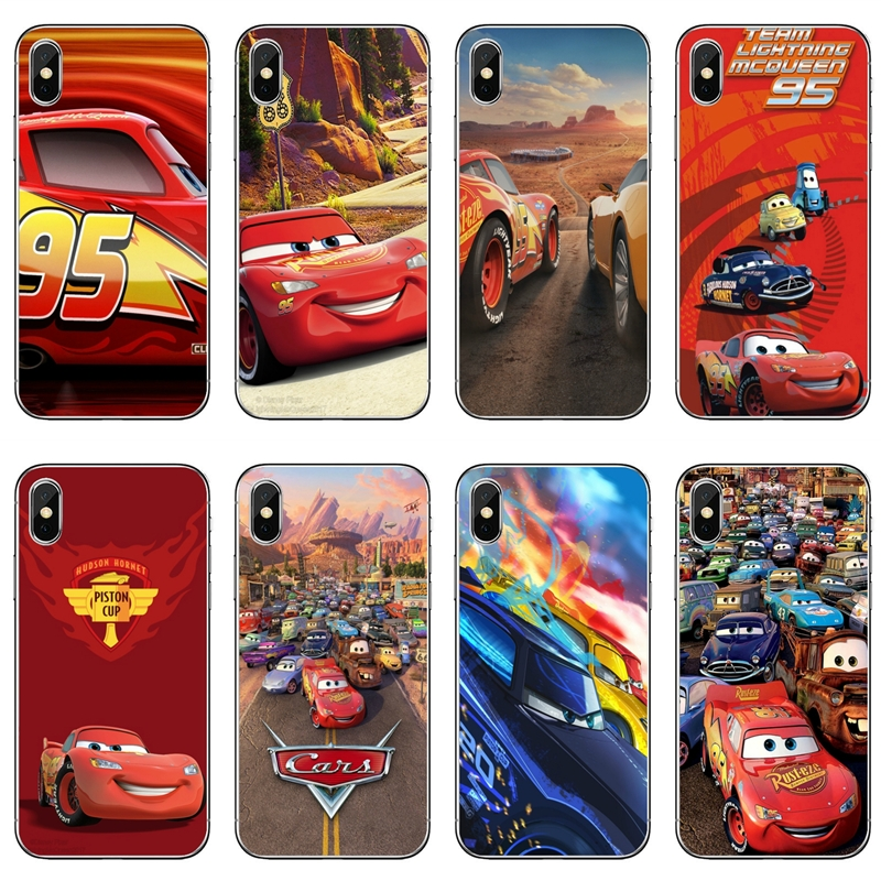 Cartoon CARS Movie Phone Case For Sony Xperia Z5 C6 L2 XA1 XA2 XZ1 XZ2 Compact Premium LG G5 G6 G7 Q6 Q7 Q8 Q9 V30 V20 V10