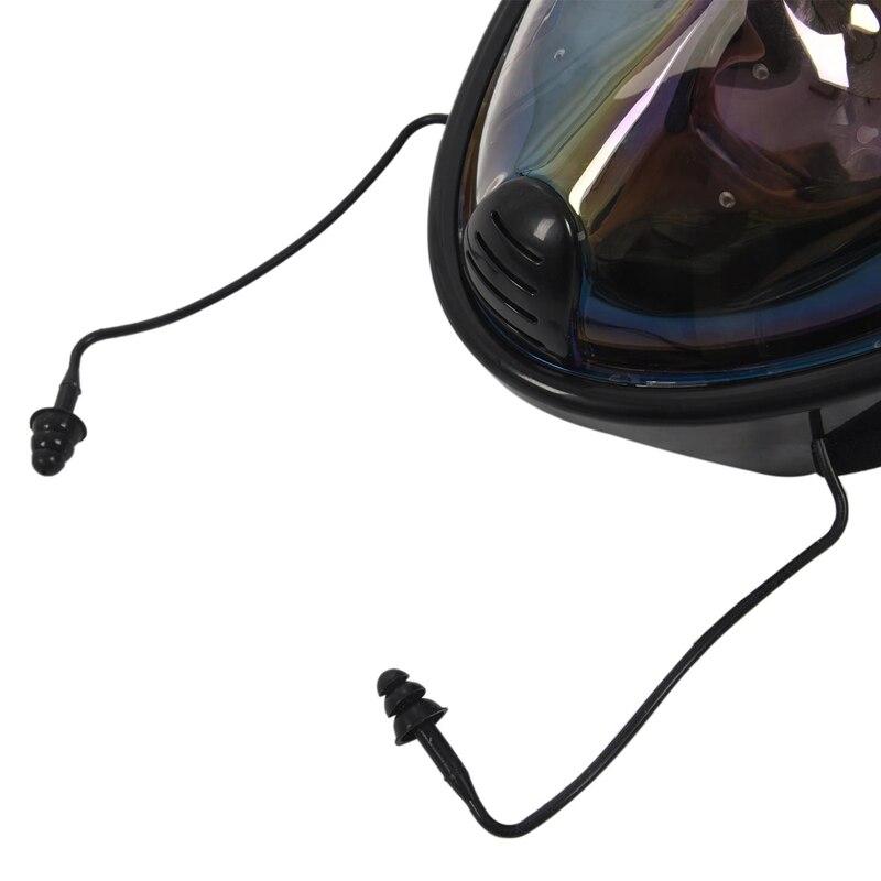 anti-vazamento máscara de mergulho de rosto cheio