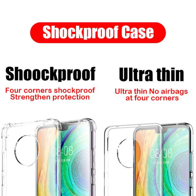 Shockproof Case For Xiaomi Mi Note 10 Pro 9 6 8 SE 9T A2 A3 Lite Mix 2s Redmi Note 9s 8 7 6 9A K30 Pro 8T 6A 7A 8A 5 Plus Cover 6