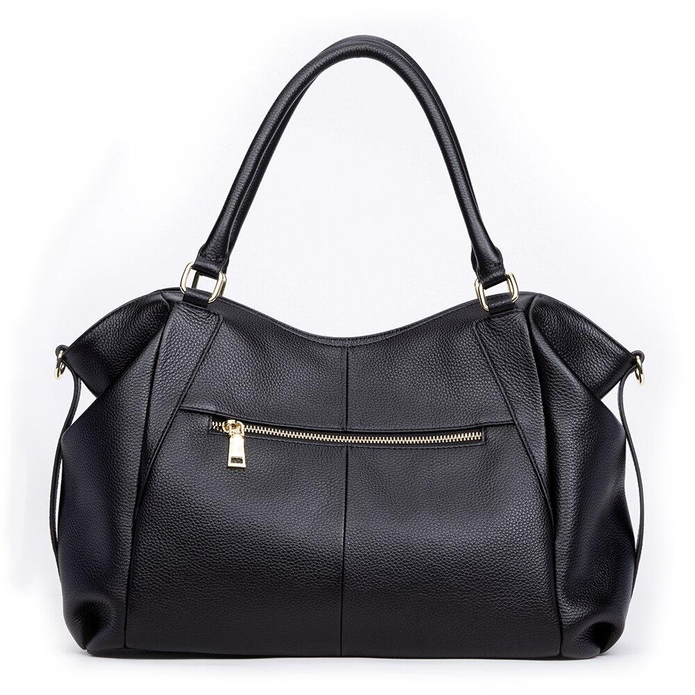 Image 2 - GIONAR Genuine Leather Bag Women Famous Brand Luxury Handbags  Designer 2019 Crossbody Shoulder Work Bag Over the ShoulderTop-Handle  Bags