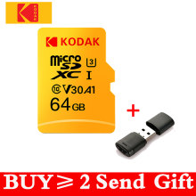 Kodak High Speed 16GB 32GB 64GB 128GB TF / Micro SD card cartao de memoria class10 U1 Flash Memory Card mecard Micro sd kart(China)