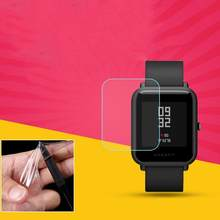 Smart Watch Screen Protector Soft TPU Clear Smart Watch Screen Protector Film for Xiaomi Huami Amazfit Bip PACE Lite(China)