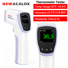 Newacalox Ir Infrarood Digitale Thermometer Non contact Voorhoofd Thermometer Tester Temperatuur Meting Tool
