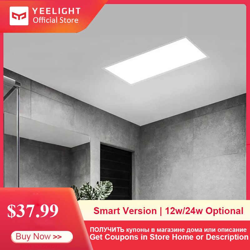 Yeelight inteligente conduziu a luz do painel de teto controle app dustproof casa inteligente lâmpada do teto 30*30 cm/30*60 cm para o banheiro da cozinha