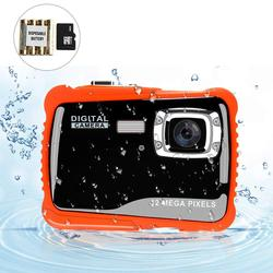 2.0inch LCD 12MP HD 8X Digital Waterproof Underwater Camera Camcorder Kids Gift