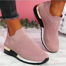 Spring Autumn Women Vulcanized Sneakers Ladies Breathable Slip-On Shoes for Female Casual Sport Platform Shoes Zapatos De Mujer