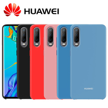 HUAWEI P30 Case Official Original High Quality Soft Silicone Protective Back for P20 Pro Lite Cover