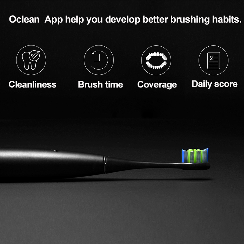Oclean One Sonic Electric Toothbrush 60 Days Battery Rechargeable APP Control Intelligent Dental Health Care Sonic Toothbrush
