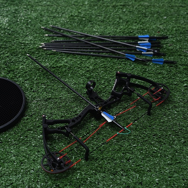 Poderoso arco recurvo 35-40lbs profissional caça arco