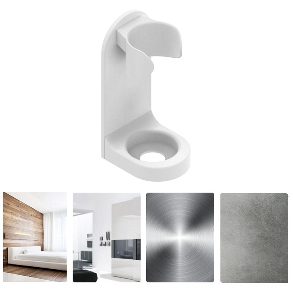 Punch Free Electric Toothbrush Holder Easy Clean Rack Bathroom Organizer Traceless Stand Wall Mounted Anti-stain Space Saving