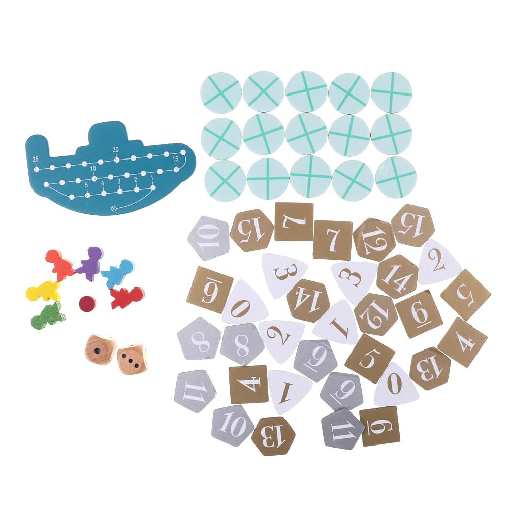 Лучший подарок, 1 комплект, глубокое море, приключения, смешная настольная игра, карточная игра, 2-6 игроков, семейная/Праздничная игра для дет...