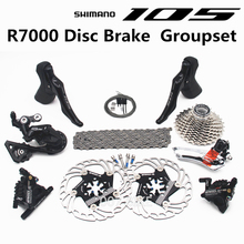 SHIMANO R7000 Groupset 105 R7000 Hydraulic Disc Brake Derailleurs  ROAD Bicycle R7000 shifter  CS 25T 28T 30T 32T 34T