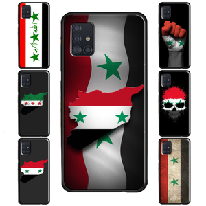 Flag of Syria Case For Samsung Note 20 Ultra Note 10 Plus Note 9 8 Galaxy S20 S8 S9 Plus S10 Lite S10e