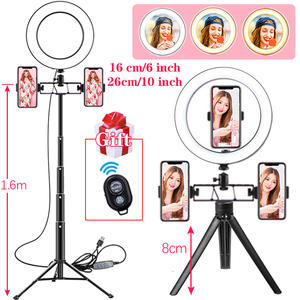 Dimmable 36W 2500K//5200K LED Ring Light with Phone Holder for Makeup Phone Camera Video Shooting eubell 12 Ring Light with 200CM Light Stand Kit US Stock